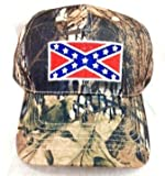 Johnny Reb Camouflage Rebel Confederate Flag Hunting Fishing Baseball Cap Hat