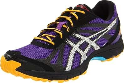 ASICS Women's GEL Fuji Racer Running Shoe,Purple/Lightning/Orange,5 M US