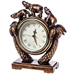 Three Elephants Clock