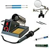 Stanz Variable Temperature Soldering Station, soldering iron, soldering gun with extra tips (In Kit)