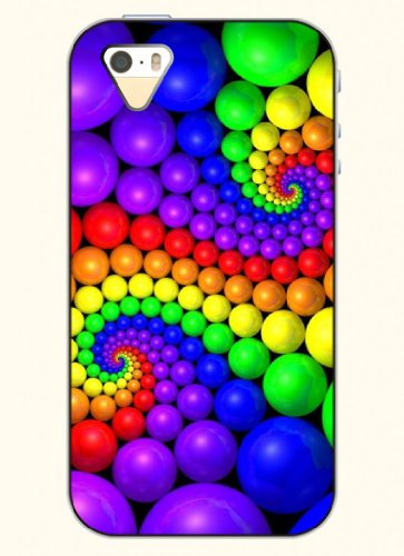Oofit Phone Case Design With Colorful Candy For Apple Iphone 4 4S 4G