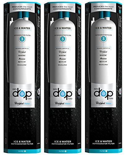 EveryDrop by Whirlpool Refrigerator Water Filter 3 (Pack of 3) (Whirlpool Advanced Water Filter compare prices)