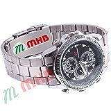 M MHB Wrist watch Hidden Recording While recording no light Flashes. Still Wrist Watch Camera Inbuild 4GB Memory . Original Brand Only Sold by M MHB .