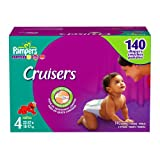 Pampers Cruisers, Size 4, 140-Count