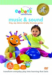 eebee's adventures Music and Sound DVD