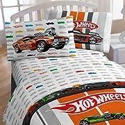 Hot Wheels Full Bed Sheet Set