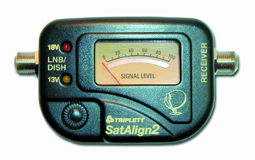 Triplett 3275 SatAlign 2 Digital Satellite Signal Strength Meter with Tone