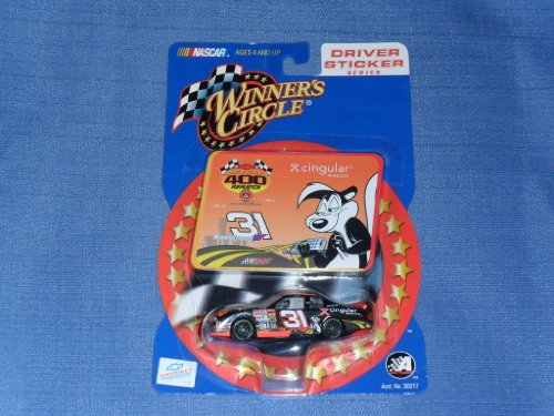 2002 - Action - NASCAR - Winner's Circle - Driver Sticker Series - #31 Robby Gordon - Cingular / Loioney Tunes / Pepe LePew - Monte Carlo 400 Rematch - 1:64 Scale Die Cast - New - Out of Production - Mint - Collectible