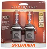 Sylvania 9007 SU SilverStar Ultra Halogen Replacement Bulb (Low/High Beam), (Pack of 2)