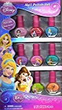 Disney Princess Nail Polish Set 8 pieces (Jasmine, Snow White, Ariel, Aurora & More)