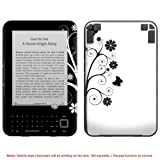 Protective Decal Skin Sticker for Amazon Kindle 3 3G (no keys & for 3rd Generation model) case cover kindle3-NOKEY-98 ~ Invisibledefenders