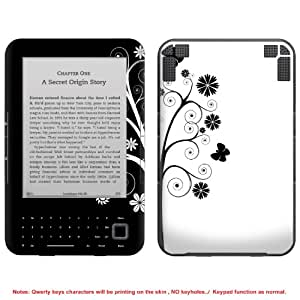 Protective Decal Skin Sticker for Amazon Kindle 3 3G (no keys & for 3rd Generation model) case cover kindle3-NOKEY-98