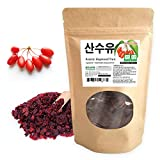 [Medicinal Korean Herb] Cornelian cherry (Cornus mas / Dogwood / Yu / ???) Dried Bulk Herbs 4oz ( 113g )
