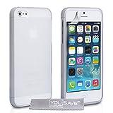 Yousave Accessories Custodia in Silicon Gel per iPhone 5/5S, Trasparentedi Yousave Accessories�