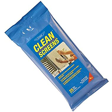 Ettore 30155 Window Screen Cleaner-WNDOW SCREEN CLEAN WIPES