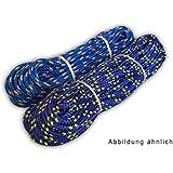 POLYPROPYLENSEIL 30m BLAU Polypropylen Seil 12mm Leine Flechtleine PP Schot Reepschnur Blaue Farbe