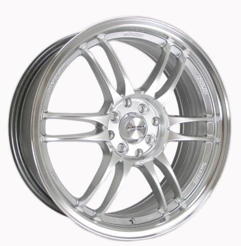 Kyowa Racing Series 228 Hyper Silver - 17 x 7 