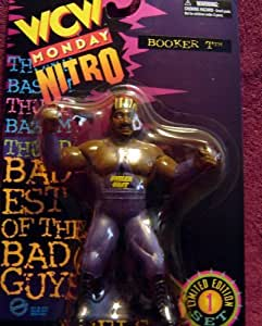 WCW Nitro Booker T. and Stevie Ray Monday Nitro Wrestling Action Figures WWF WWE