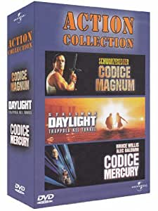 Action collection - Codice Magnum + Daylight - Trappola nel tunnel + Codice Mercury [3 DVDs] [IT Import]