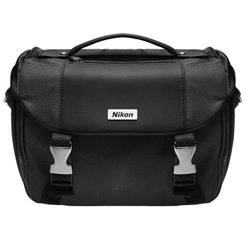 Nikon Deluxe Digital SLR Camera Case - Gadget Bag for D7000, D5100, D5000, D3100, D3000, D90, D60, & D40