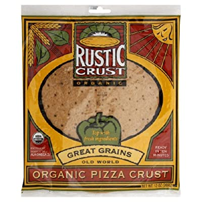 Rustic Crust Organic Great Grain Pizza Crust ( 8x13 OZ)
