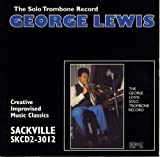echange, troc George Lewis - Solo Trombone Record