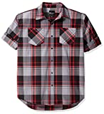 Akademiks Mens Big and Tall Grand Woven Shirt