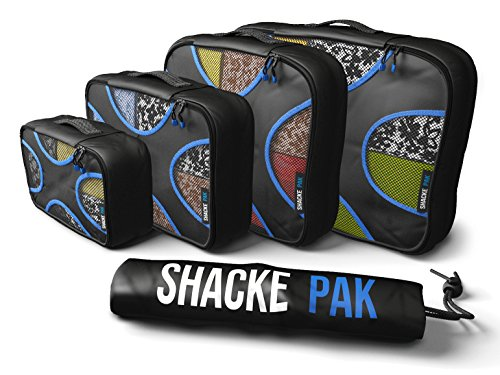 Shacke Pak Packing Cubes Travel Organizers