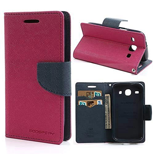 Efinetrick Mercury Goospery Fancy diary wallet case flip cover for ASUS ZENFONE 2 LASER 5.0 ZE500KL PINK BLUE  available at amazon for Rs.224