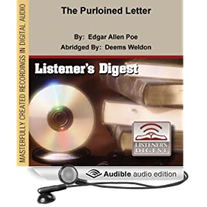 the purloined letter Dupin asks for the money, for which he will produce the letter  a better cause,  for example, they have insinuated the term 'analysis' into application to algebra.