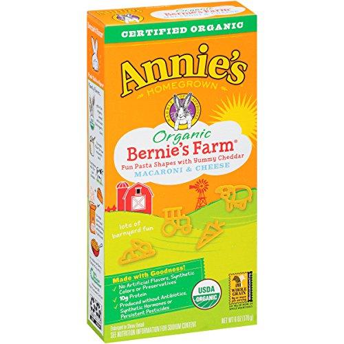 Annie's Bernie's Farm Mac and Cheese Macaroni and Cheese Organic, 6 oz (Mac And Cheese Annies compare prices)