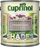 New 2014 Cuprinol Garden Shades Natural Stone 1L