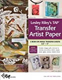 img - for Lesley Riley's TAP Transfer Artist Paper 5-Sheet Pack: 5 Iron-on Image Transfer Sheets 8.5 x 11 book / textbook / text book