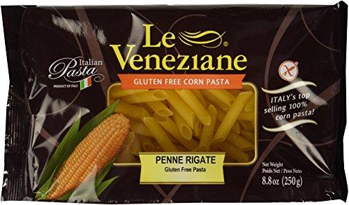 Le Veneziane Gluten Free Penne Rigate Corn Pasta -- 8.8 oz (La Veneziane Pasta compare prices)