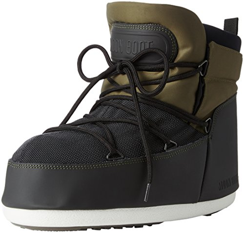 Moon Boot Buzz Tech, Stivaletti, Unisex - adulto, Verde (Verde Oliva/Nero), 41/42