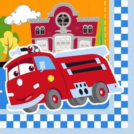 Hallmark Disney 1St Birthday Cars Beverage Napkins