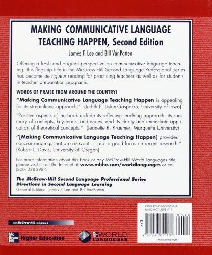 Foreign Language Fiction: MAKING COMMUNICATIVE LANGUAGE TEACHING HAPPEN Media Books
