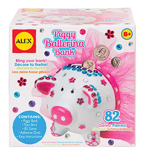 ALEX Toys Craft Piggy Ballerina Bank
