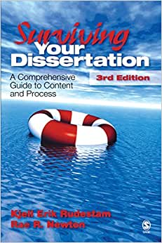 surviving your dissertation rudestam Surviving your dissertation: a comprehensive guide to content and process by rudestam, kjell erik, newton, rae r and a great selection of similar used, new and.