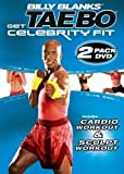 Tae Bo Billy Blanks Celebrity Fit Cardio & Sculpt 2 DVDs Set - Region 0 Worldwide