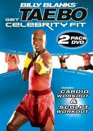 Tae Bo Billy Blanks Celebrity Fit Cardio & Sculpt 2 DVDs Set - Region 0 Worldwide