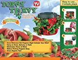 Set of 4 ~ Topsy Turvy Hot Pepper Planter ~ The Original Upside Down Planter