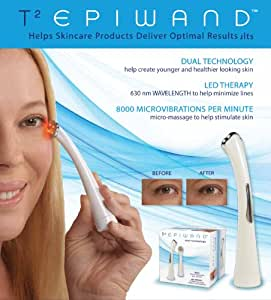 """T2 EPIWAND"" DUAL TECHNOLOGY LED SKINCARE THERAPY"