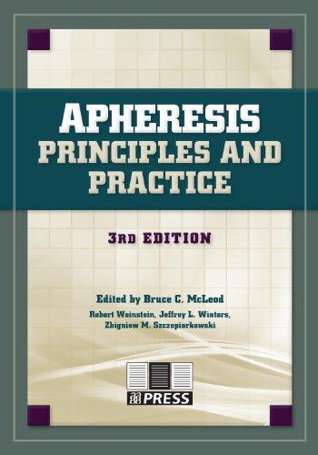 Apheresis: Principles and Practice, 3rd edition