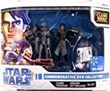 51MhlLK5vzL. SL160  Star Wars Clone Wars Animated Exclusive Action Figure 3 Pack Commemorative DVD Collection 2 (Anakin Skywalker, R2 D2 and Clone Trooper)