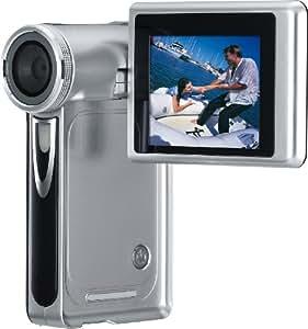 Rollei Movieline P3 Camcorder (SD Karte, 8-fach digital Zoom, 6,1 cm (2,4 Zoll) Display, HDMI Kabel) silber/schwarz