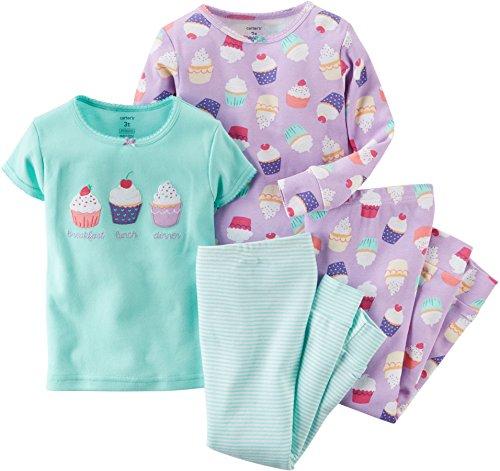 carters-madchen-schlafanzug-violett-violett-grun-2-jahre-gr-2-jahre-pj4hedge18m