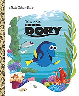 Book Cover: Finding Dory Little Golden Book