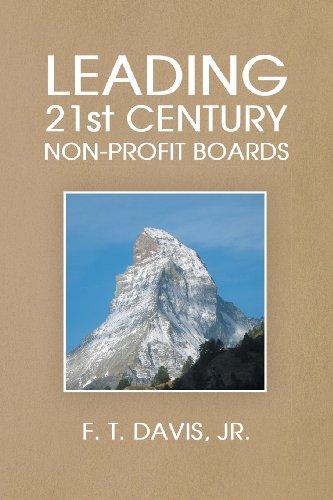Leading 21st Century Non-Profit Boards