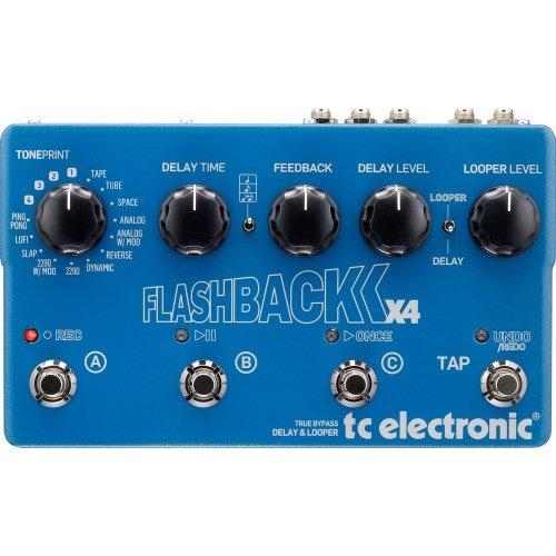 Tc Electronics Flashback X4 Guitar Delay Effects Pedal